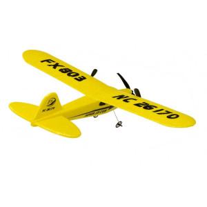 4GHz/RTR/RAZPON KRIL 34cm-RUMEN - Predstavljamo zvest model replike letala RC Piper Cub J-3 v različnem RTF. Zaradi majhnosti je nalašč za