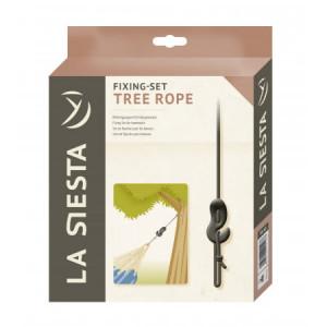 Pritrditven set za visečo mrežo na drevo Tree Rope