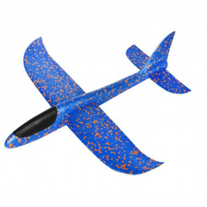 PROSTOLETEČE LETALO XL /470X490mm-COLOR - Lahka letala iz trpežnega in odpornega materijala na udarce. Aerodinamična oblika izboljša zmožnost letenja v