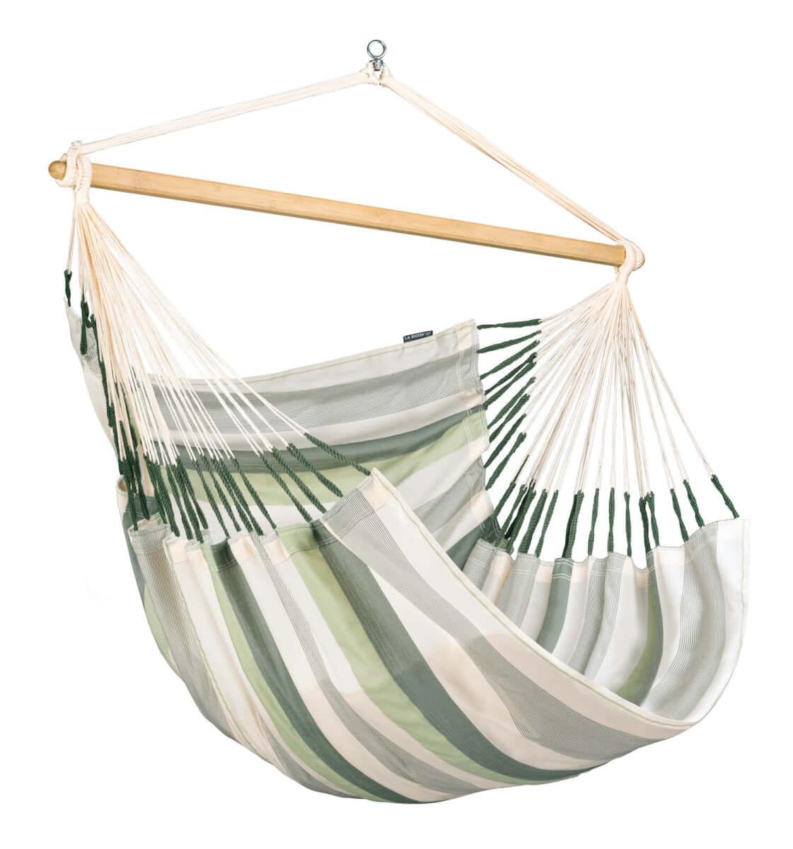 Vodoodporen viseči stol Domingo ponuja veliko prostora za sanjarjenje na prostem. Je zelo velik in vam omogoča