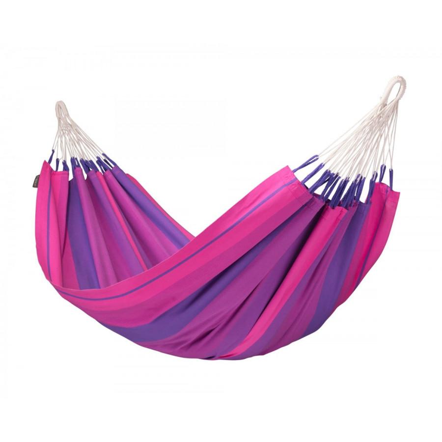 Viseča mreža iz bombaža ORQUIDEA Purple