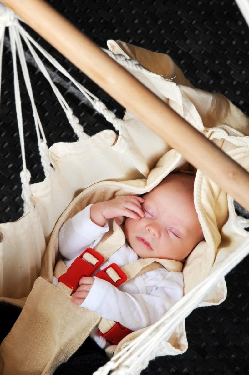 Viseča mreža za dojenčka Yayita