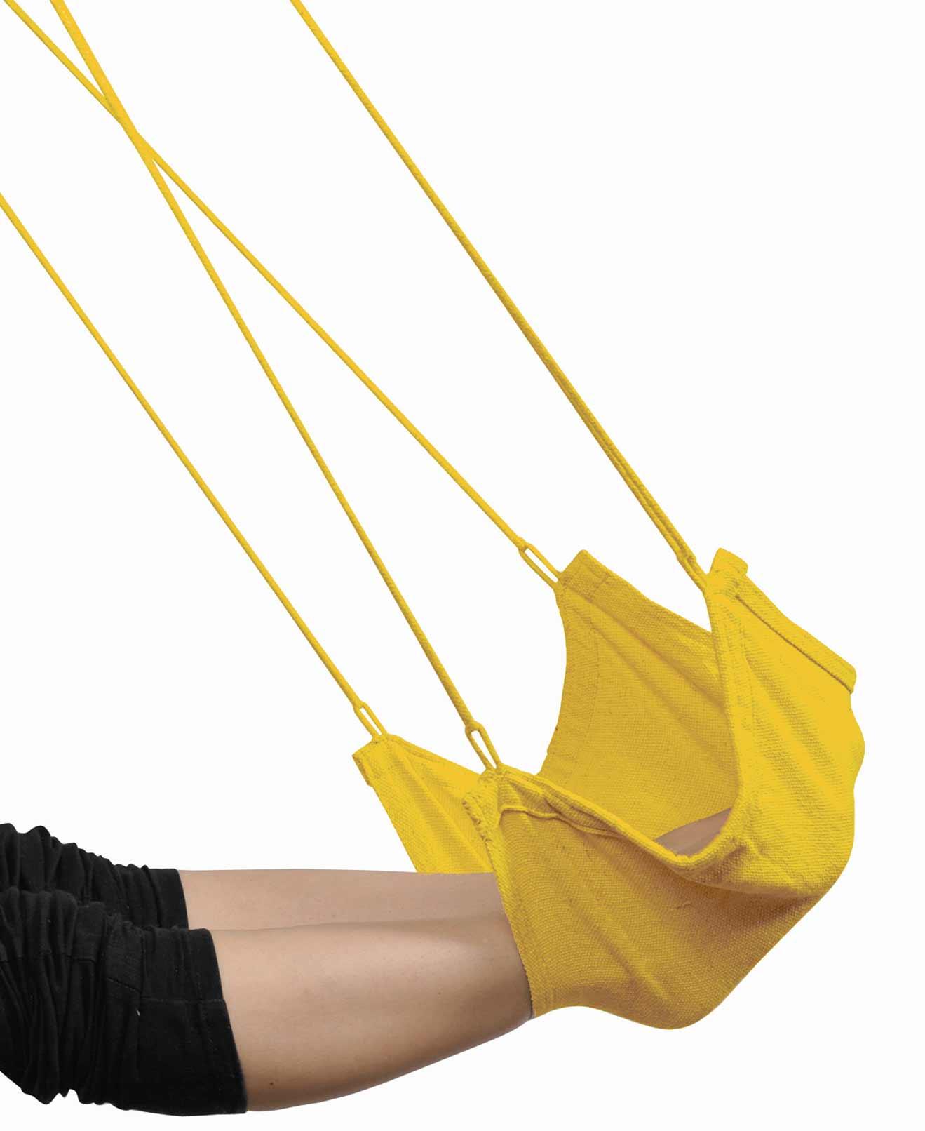 Viseča mreža za noge FOOT REST Yellow