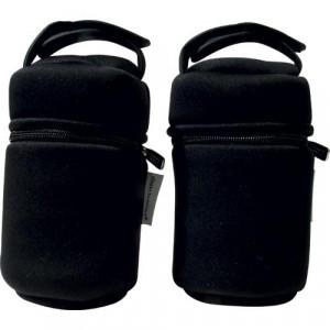 Tommee Tippee mehka termalna torbica za stekleničko Closer to Nature zadržuje temperaturo tako poleti kot pozimi. V kompletu sta 2 torbici.