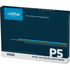 CRUCIAL P5 SSD 250GB M.2 80mm PCI-e 3.0 x4 NVMe