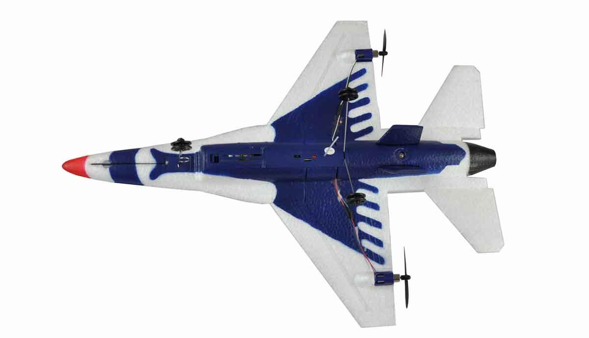 4 GHZ Z ŽIROSKOPOM RTF-AMEWI - Majhna kopija legendarnega F-16