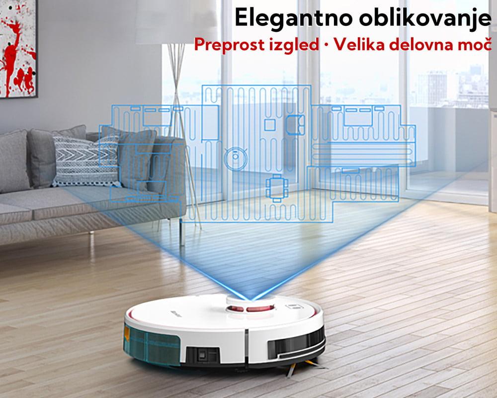 MAMIBOT EXVAC880 Wisor - Robotski sesalnik