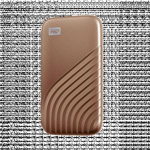 USB-C 3.2 zlat - WD My Passport SSD
