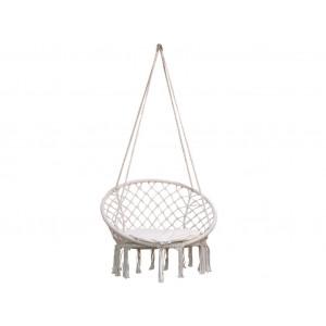 Okrogli viseči stol BOHO - Natur