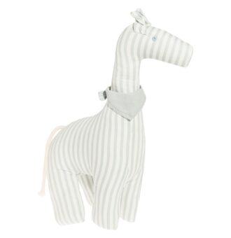 Prikupna žirafica v sivi barvi naj postane najboljši prijatelj vašega malčka.Od rojstva dalje