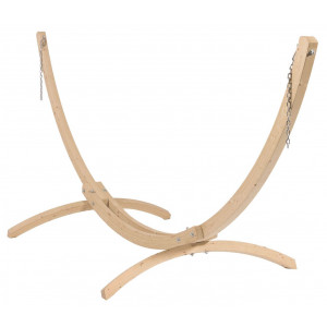 Leseno stojalo za visečo mrežo WOOD