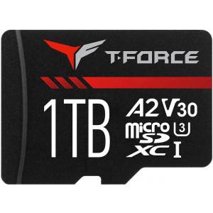 Teamgroup Gaming A2 1TB MicroSD UHS-I U3 V30 100/90MB/s spominska kartica - T-FORCE Gaming A2 kartica je namenjena vse bolj zahtevnim uporabnikom ter strastnim