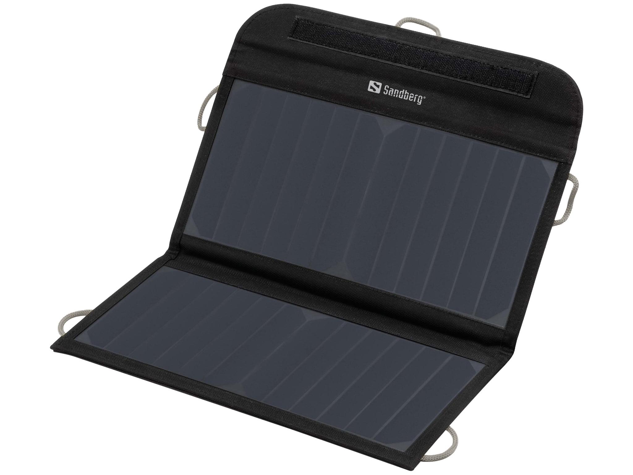 Sandberg solarni polnilnik 13W 2xUSB - Sončni polnilnik Sandberg Foldable Solar Charger je izjemno učinkovita sončna celica
