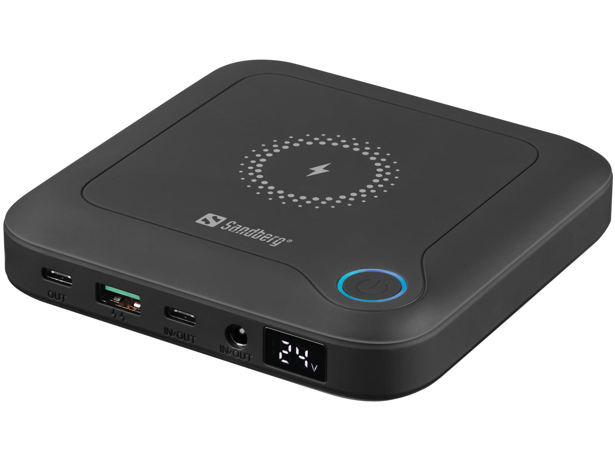 Sandberg All-in1 Laptop Powerbank 24000 prenosna baterija - Prenosna baterija Sandberg All-in-1 Laptop Powerbank 24000 je vaš univerzalni vir energije