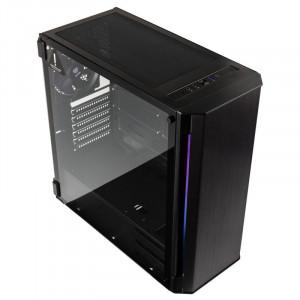 črno - Tip ohišja: Gaming big towerPlošče: mini ITX / ATX / Micro ATX / E-ATXBarva: