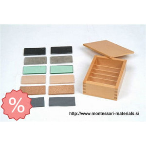 Thermic tablets with box | Montessori materiali