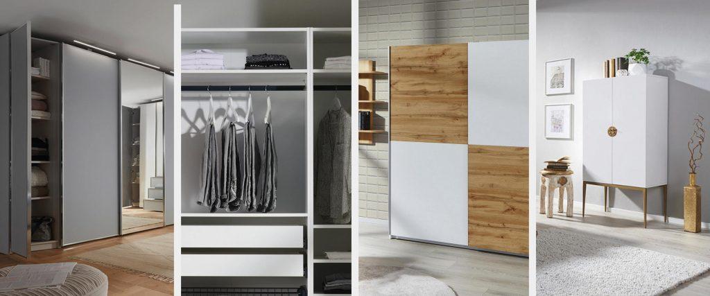 Tipi garderobnih omar