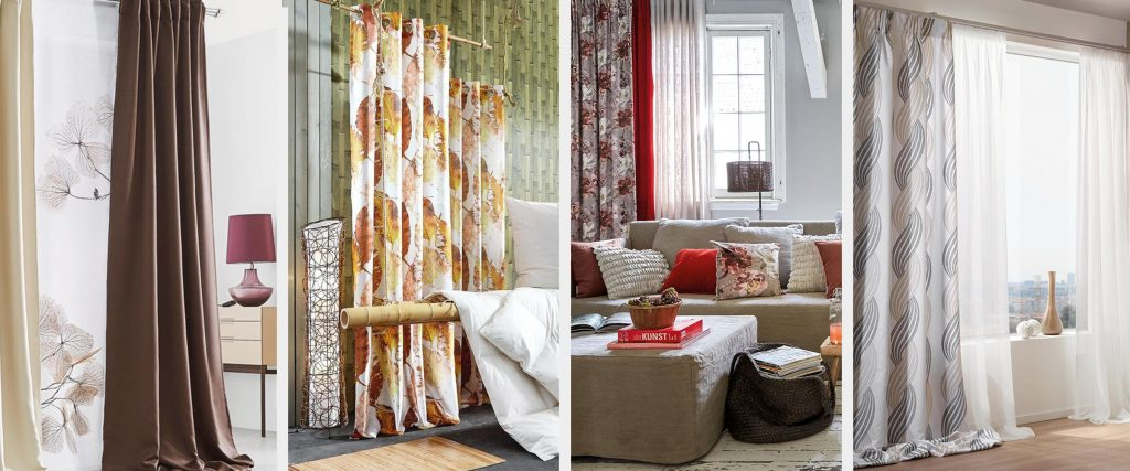 Zavese kot dekorativni dodatek