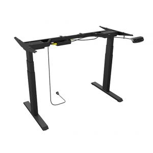 Icybox ergonomska Sit&Stand električna dvižna miza - okvir - Električno nastavljiv mizni okvir Sit&Stand s spominom za več nastavitev