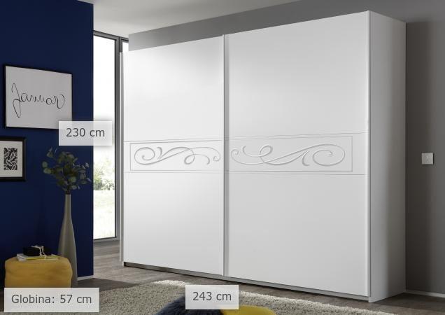 Spalnice - Garderobne omare za spalnice