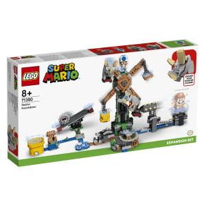 Svoji začetni progi LEGO® Super Mario™ lahko daš ta zabavni razširitveni komplet! Skoči na oba konca Grrrola na prevesni gugalnici