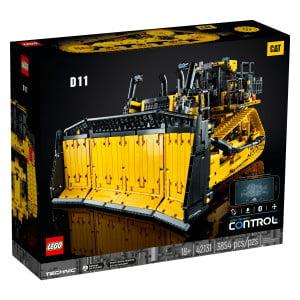 Cat® D11T Buldožer je prava konstrukcijska ikona. Zdaj lahko svojo avtentično različico mogočnega stroja sestaviš s kompletom LEGO® Technic Cat® D11T Buldožer. Sprosti se in si vzemi čas za sestavljanje podrobnosti